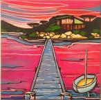 SOLD Freycinet II Maree Gwynne acrylic on canvas