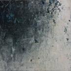 Intimate World 10 by Kym Barrett encaustic on panel 24 x 24 x 4.5cm $225