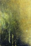 Intimate World 3 by Kym Barrett encaustic on panel 29.5 x 19.5 x 4.5cm $225