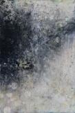 Intimate World 4 by Kym Barrett encaustic on panel 29.5 x 19.5 x 4.5cm $225