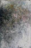 Intimate World 5 by Kym Barrett encaustic on panel 24 x 24 x 4.5cm $225