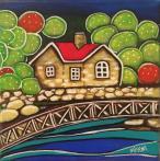 Port Arthur Maree Gwynne acrylic on canvas 15x15x3.5cm $75