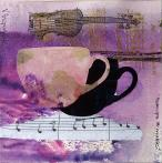 TEACUPS & MUSIC SERIES by Victoria Fitzpatrick