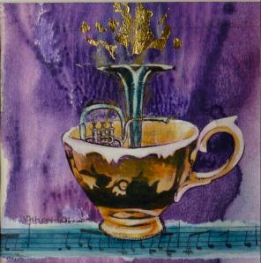 TEACUPS & MUSIC SERIES #1 BY Victoria Fitzpatrick